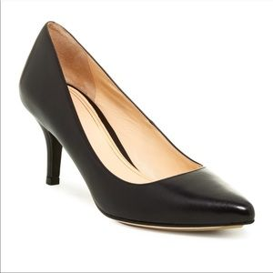 Cole Haan Chelsea Leather Pointed Toe Low Pump